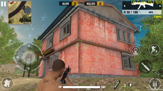 Bullet Strike Battlegrounds 0.5.3.1. Скриншот 1