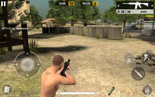 Bullet Strike Battlegrounds 0.5.3.1. Скриншот 4