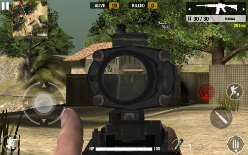 Bullet Strike Battlegrounds 0.5.3.1. Скриншот 5
