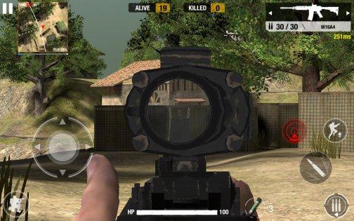Bullet Strike: Sniper Battlegrounds 0.7.0.4. Скриншот 6