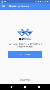 BlueBorne Scanner 1.04. Скриншот 1
