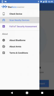 BlueBorne Scanner 1.04. Скриншот 5