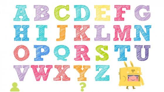 Английский сКроликом— Дети ABC Алфавит 1.0. Скриншот 3