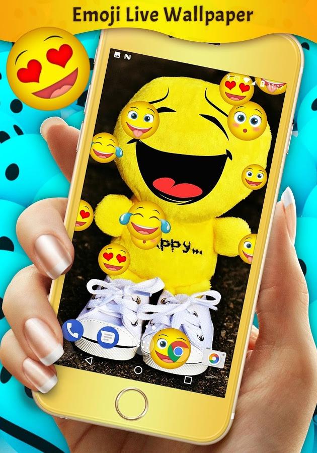 Скачать Emoji Live Wallpaper 6.3.0 для Android
