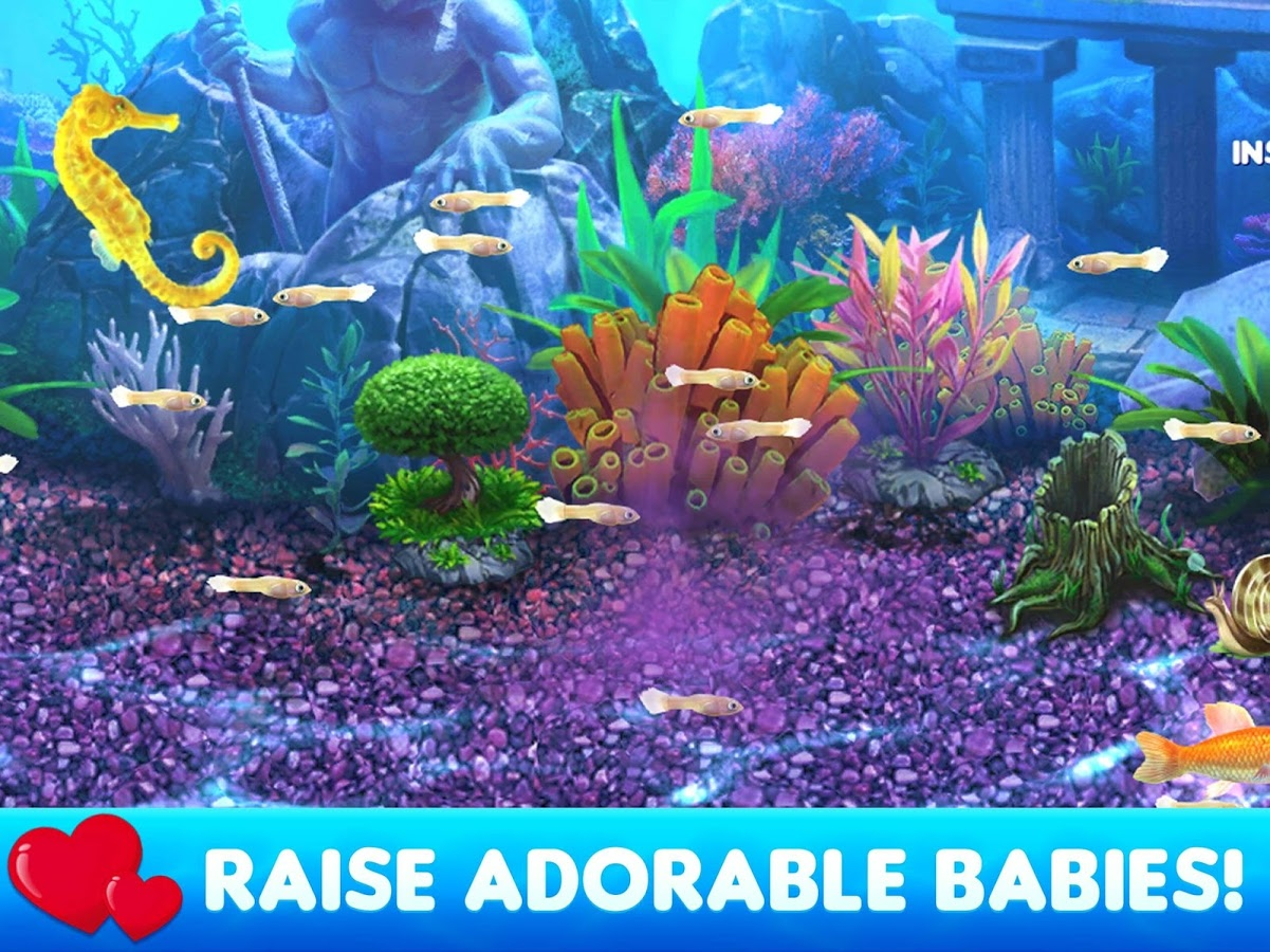 Fish tycoon 2 android iphone ipad for Fish tycoon 2