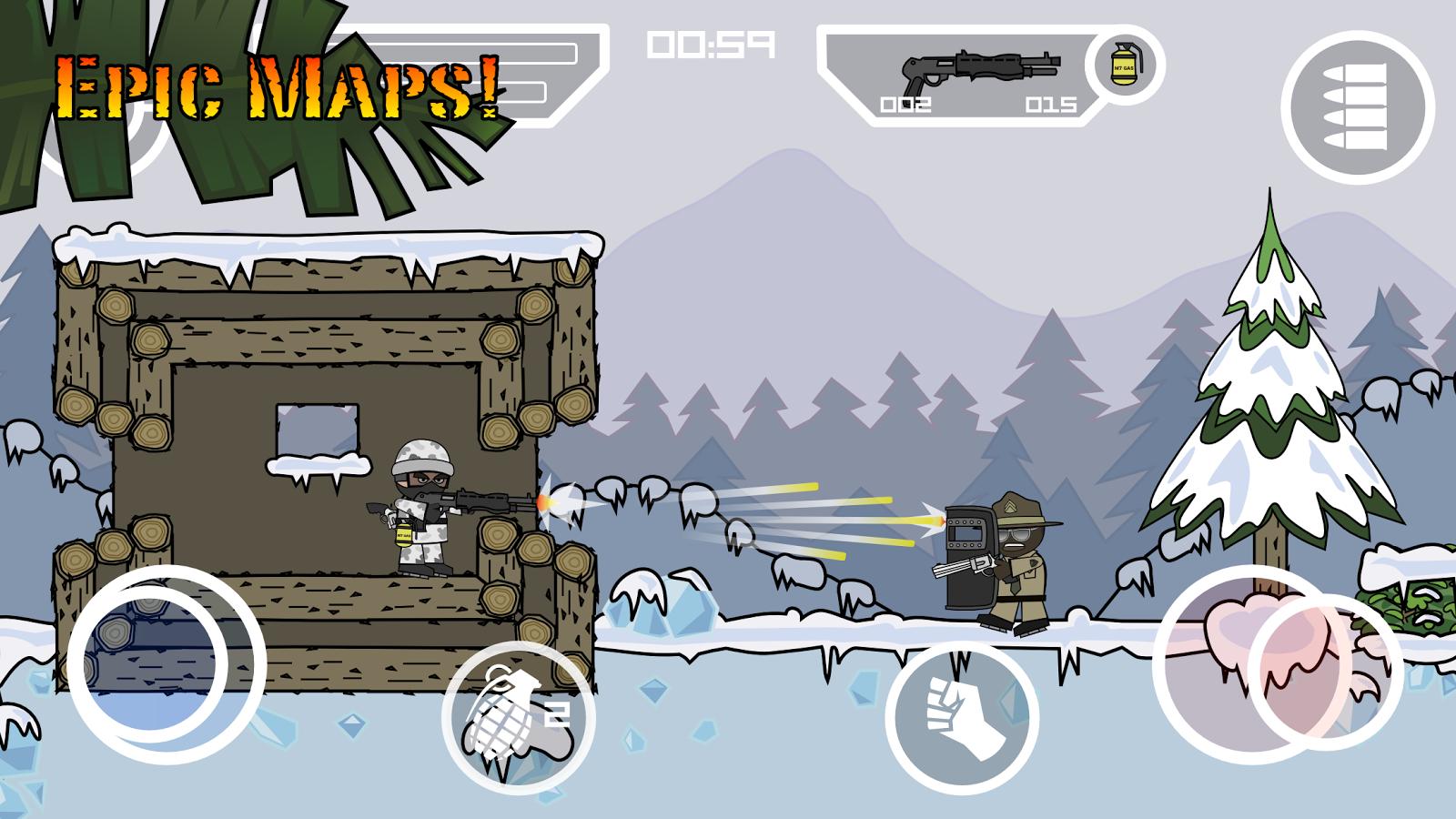 скачать Doodle Army 2 Mini Militia 428 для Android