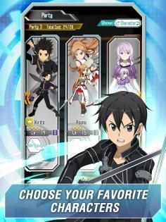 Sword Art Online MD 1.25.3. Скриншот 2