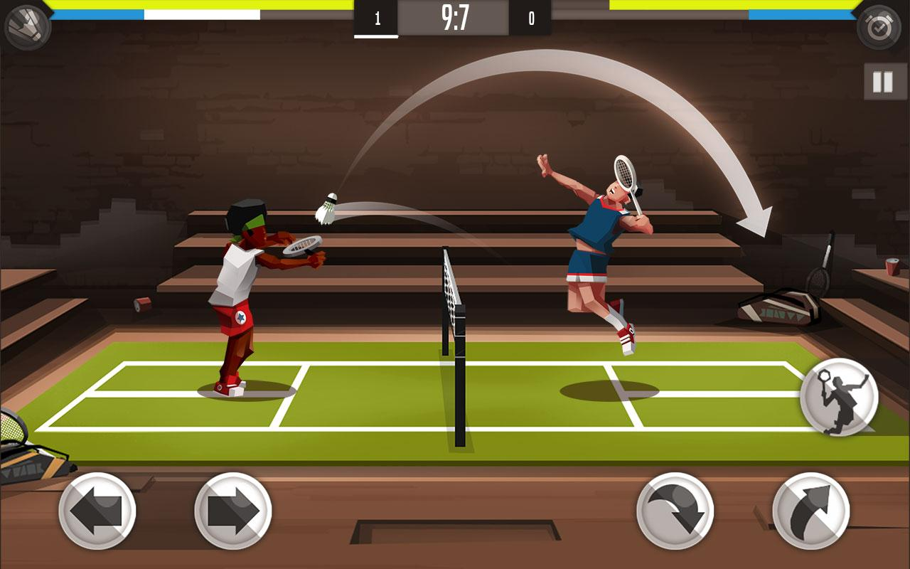 badminton 2 Play stick figure badminton 2 for free online at gamesgamescom this sports game is totally bonkers choose from characters like an experimental robot before you head to the badminton court to challenge your opponents.