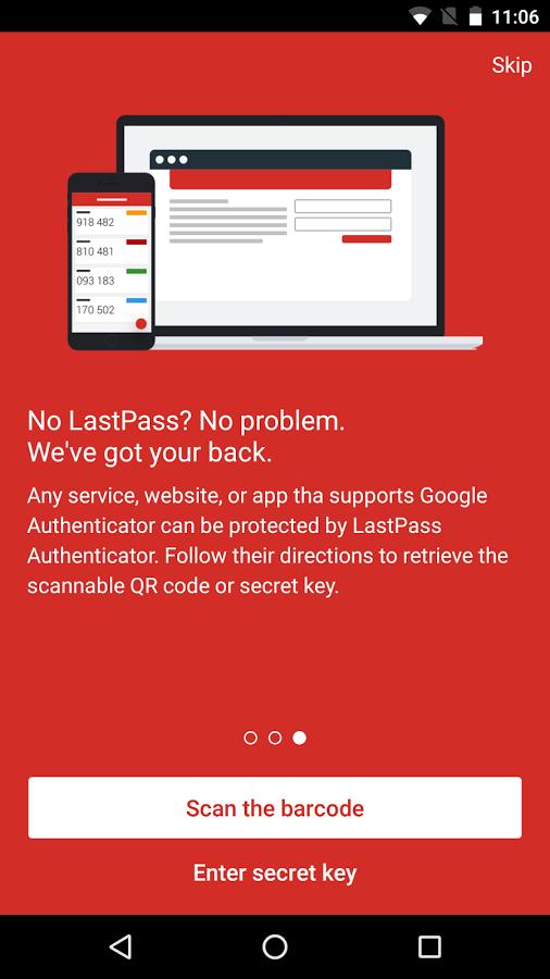 Скачать LastPass Authenticator 1.2.1 для Android