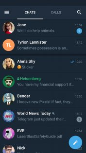 Telegram X 0.20.4.798-armeabi-v7a. Скриншот 1