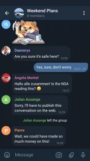 Telegram X 0.20.4.798-armeabi-v7a. Скриншот 2