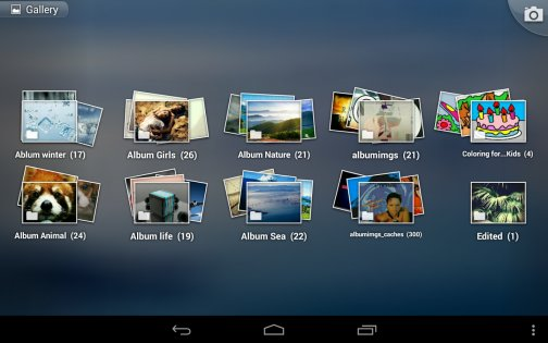 Фотогалерея 3D & HD 1.3.3. Скриншот 8