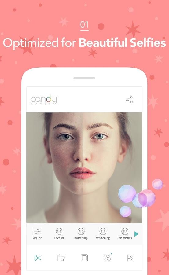 Скачать программу candy camera на андроид