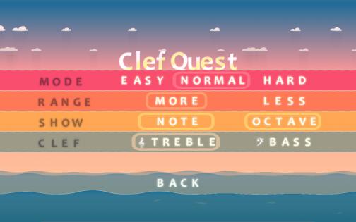ClefQuest 1.3.24. Скриншот 3