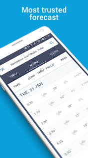 The Weather Channel App 1.21.0. Скриншот 1