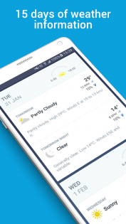 The Weather Channel App 1.22.0. Скриншот 4
