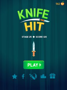 Knife Hit 1.6. Скриншот 10