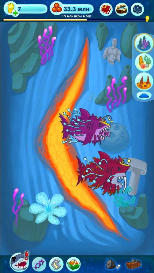 Скачать игру hungry-shark-evolution на андроид.