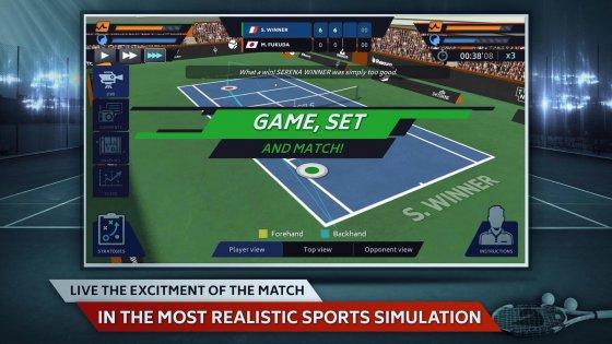 Tennis Manager 1.0.2315. Скриншот 4
