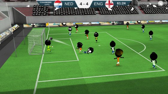 Stickman Soccer 20182.0.1. Скриншот 2