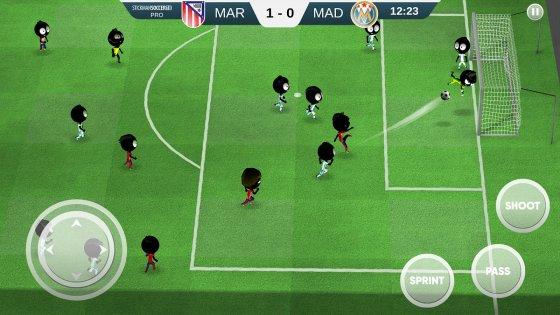 Stickman Soccer 20182.0.1. Скриншот 8