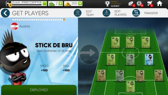 Stickman Soccer 20182.0.1. Скриншот 9