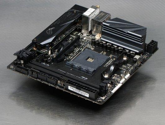 Обзор материнской платы ASUS ROG Strix X470-I Gaming
