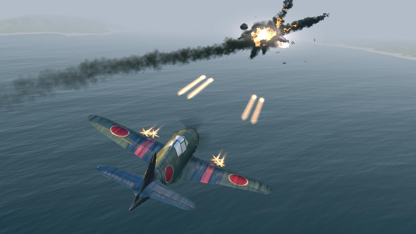 Обои Вторая мировая, F4u corsair, chance vought. Авиация foto 2