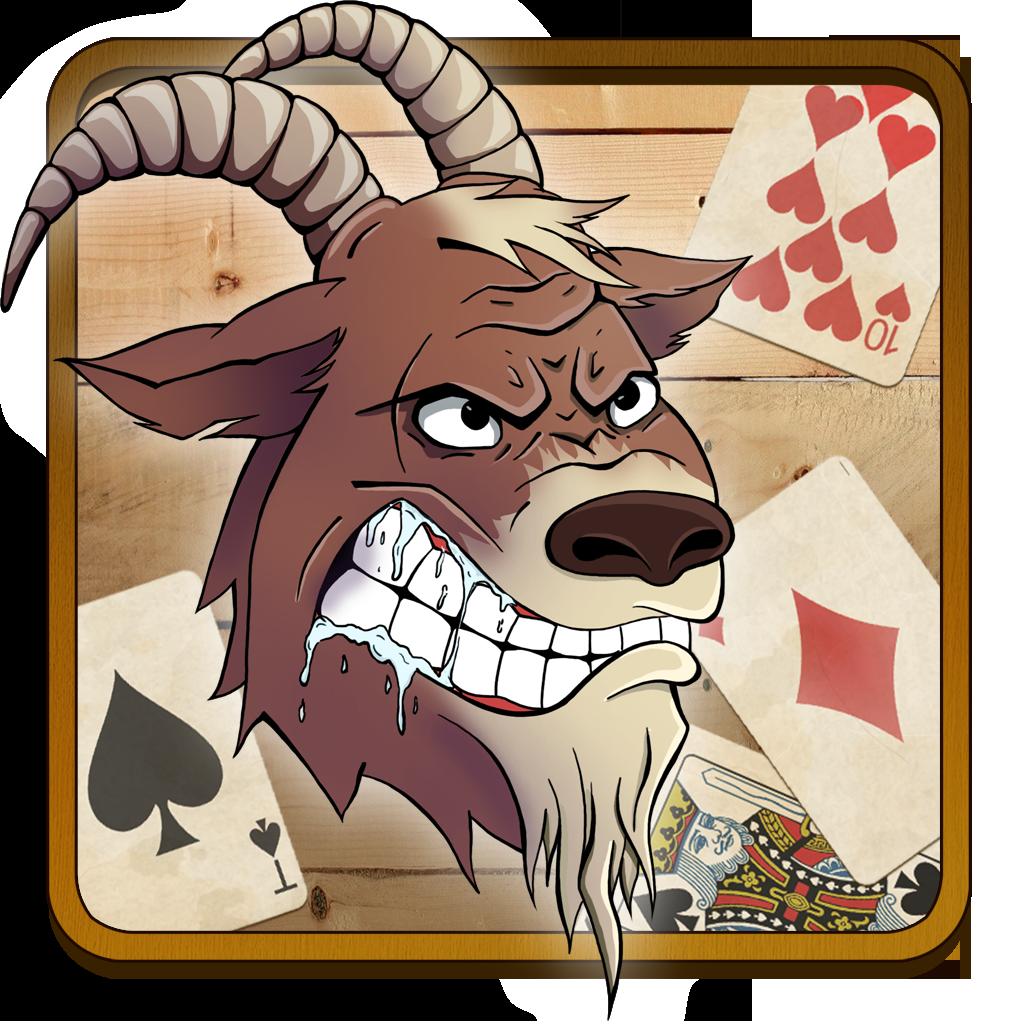 4 играть карта карты козел